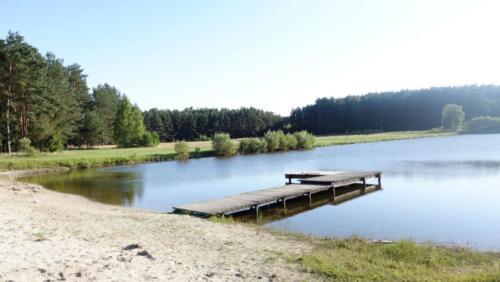 Odpoczynek nad jeziorem agroturystyka